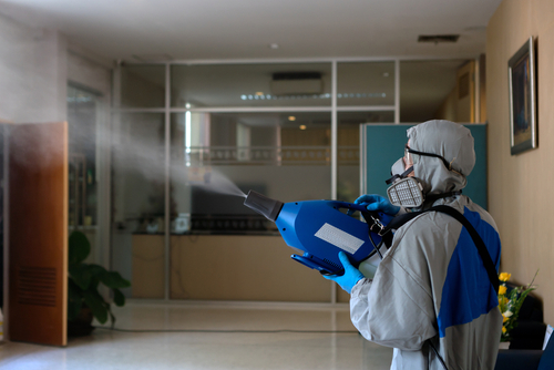 Home disinfection
