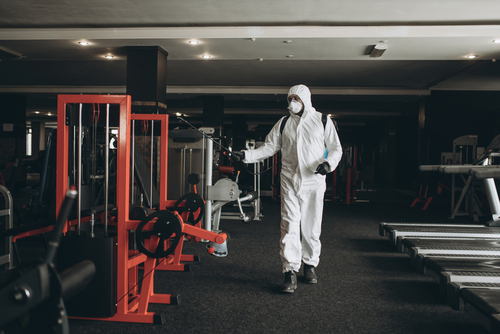 Gym disinfection
