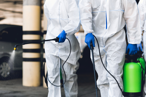 Disinfection Service For The Construction Sites