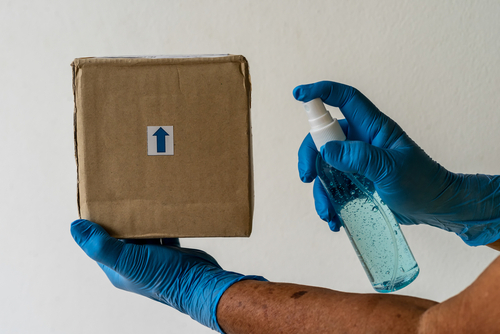 How to Disinfect Parcels After Receiving Them?